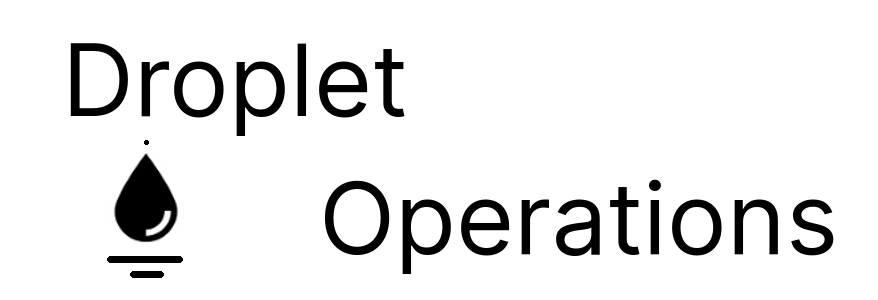 Droplet Operations